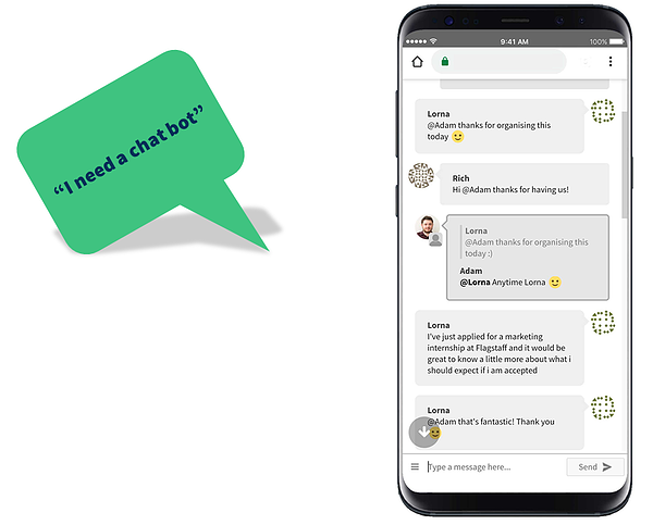 How to swear by your ATS and not at it - I need a chatbot 2
